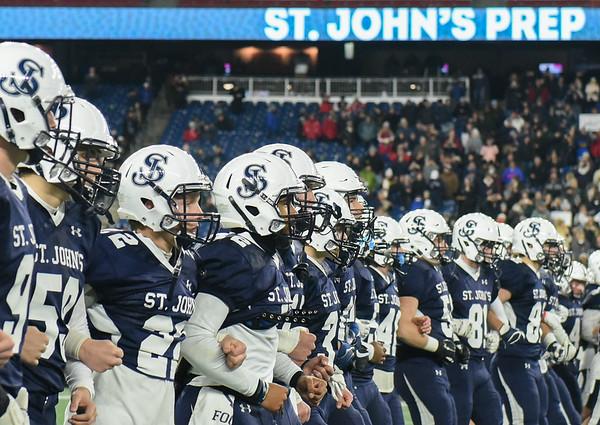 St. John's Prep in Division 1 Super Bowl at Gillette Stadium vs. Catholic Memorial