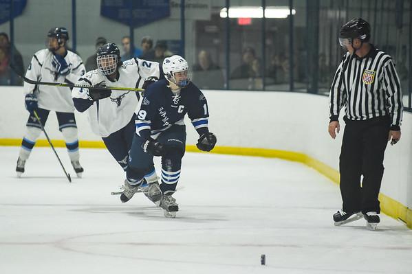 Swampscott vs Peabody boys hockey