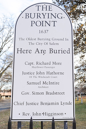 Charter St. Cemetery - The Burying Point