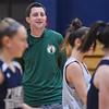 Pingree varsity girls basketball practice ... lede art for Friday sports
