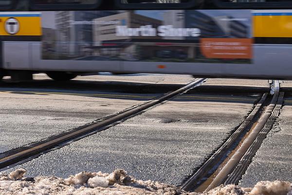 Peabody Railroad Tracks
