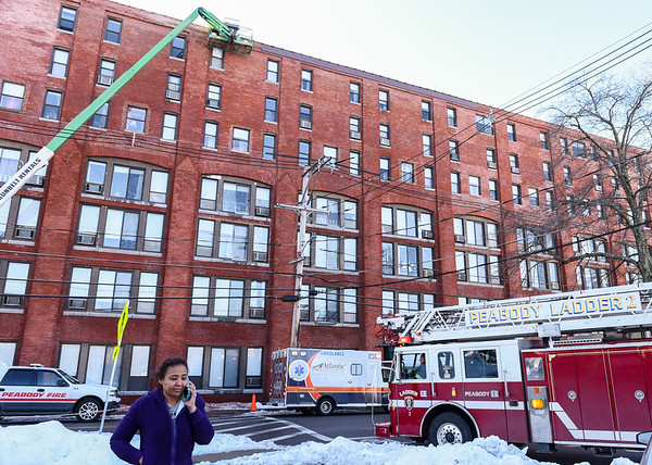 Fire reported at the Tannery Apartments in Peabody