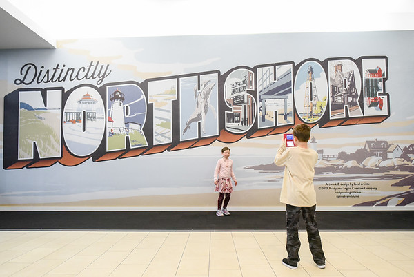 """""""Distinctively Northshore"""" Mural at the Northshore Mall"""