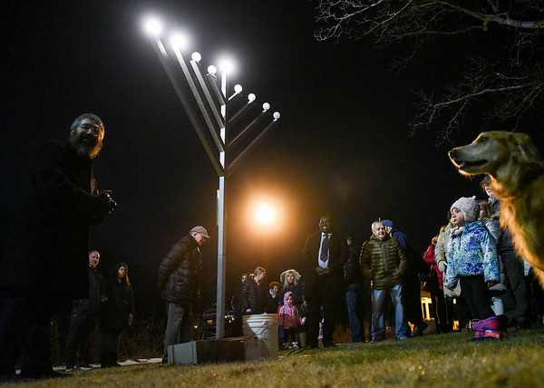 Menorah Lighting Ceremony in Danvers