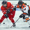 Masconomet at Beverly girls varsity hockey game