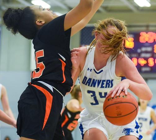 Beverly vs Danvers girls basketball