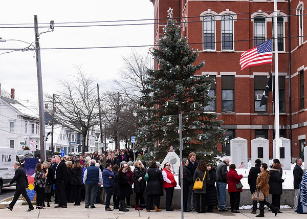 The Wake of Superintendent Cara Murtagh at the Peabody City Hall