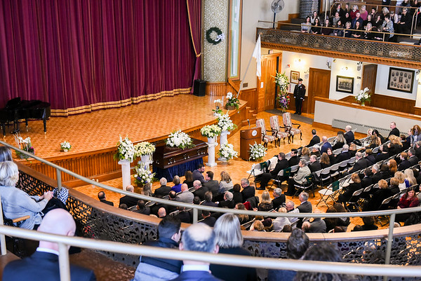 The Funeral of Superintendent Cara Murtagh at the Peabody City Hall