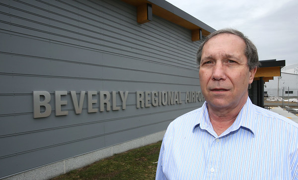 Bob Snuck is the new manager of the Beverly Regional Airport.