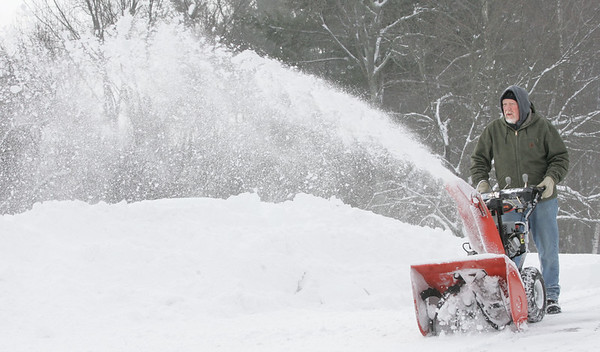Phil Leavitt, Windham, snowplows, driveway, Snow,