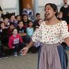 Boston Lyric Opera performed excerpts from Humperdinck's Hansel and Gretel for the Saltonstall School.