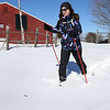 Cross country ski at Brooksby Farm in Peabody.