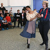Boston Lyric Opera performed excerpts from Humperdinck's Hansel and Gretel for the Saltonstall School.