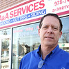 Chris Zorzy, owner of A&A Services in Salem