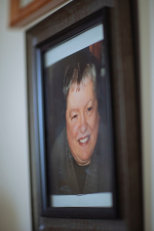 A photo of Raymond's departed wife, Rosalie. Jared Charney / Photo