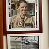 Photos of Jennifer on the walls of the Harris residence. Jared Charney / Photo