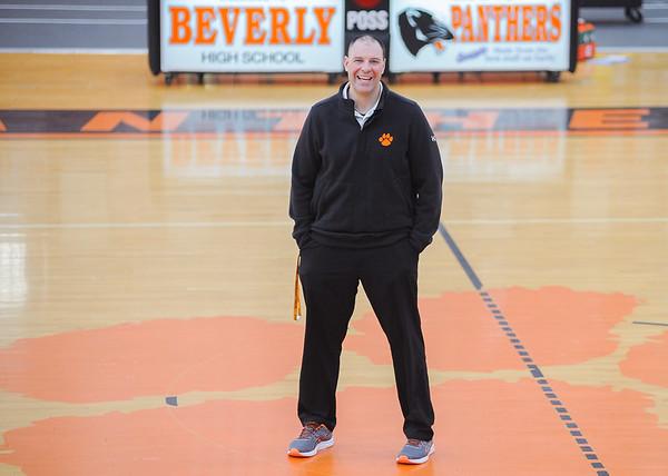 Beverly High School teacher Ben Goodhue has been named physical education teacher of the year