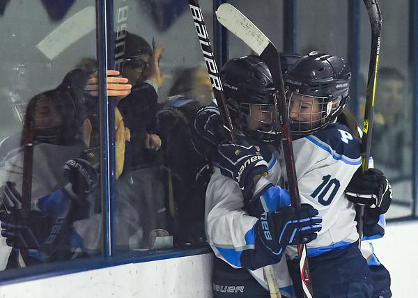 Winthrop vs Peabody - Girls Hockey D1 Preliminary Playoff Game
