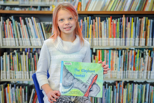 10-year-old Beverly girl writes, publishes children's book