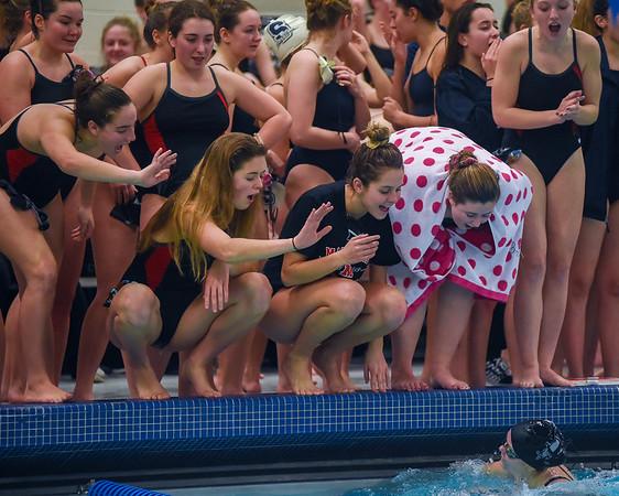 Swim Meet -  Northeastern Conference girls swim championships for Thursday sports