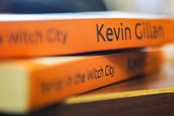 Kevin Gillan, a retired police officer, has written the next great American novel, A Murder Mystery Happening on Halloween