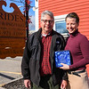 Victoria Baker of Prides Pizza receives Bridgewell award