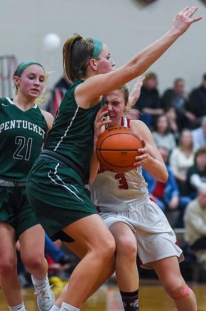 Pentucket vs Masconomet - girls basketball
