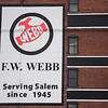 F.W. Webb's exterior was recently repainted in Salem. RYAN MCBRIDE/Staff photo 2/25/20