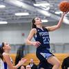 Peabody at Danvers girls varsity basketball game