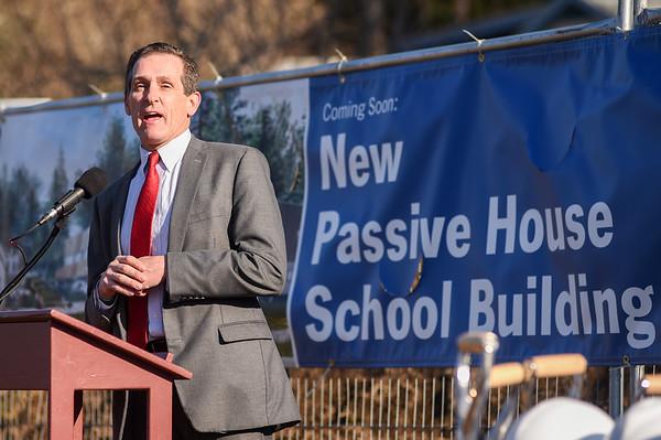 Passive House School Groundbreaking Ceremony at Waring School