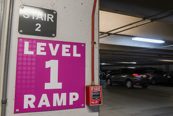 Drainage issues at Witch City Mall parking garage