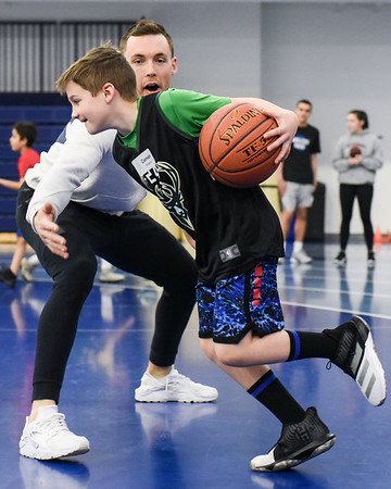 Pat Connaughton hosts his annual With Us Foundation youth basketball clinic