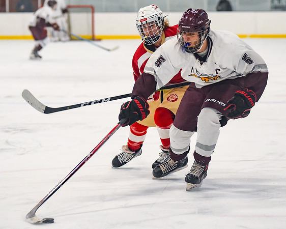 Rockport vs. Everett hockey