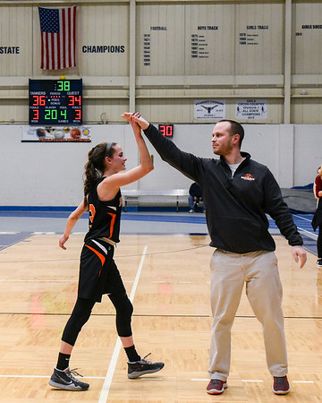 Beverly at Peabody varsity basketball game