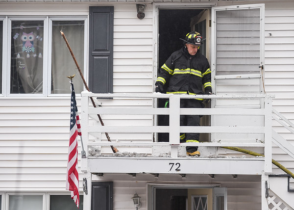 Ipswich house fire along Route 1