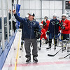 Essex Tech boys varsity hockey practice photos
