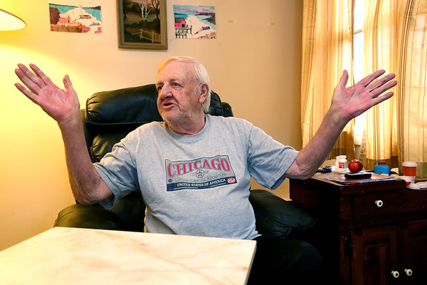Bill Leavitt is a longtime resident of Southern Manor in Ipswich