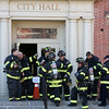 Beverly City Hall was closed due to an underground electrical fire that caused CO levels
