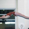 SAM GORESH/Staff photo. Beverly sophomore Sam Fafard dives in their meet against Marblehead at the Lynn van Otterloo YMCA. 1/10/17