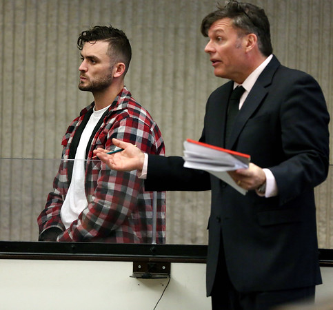 Arraignment of John Leger of Salem, charged with dog abuse.