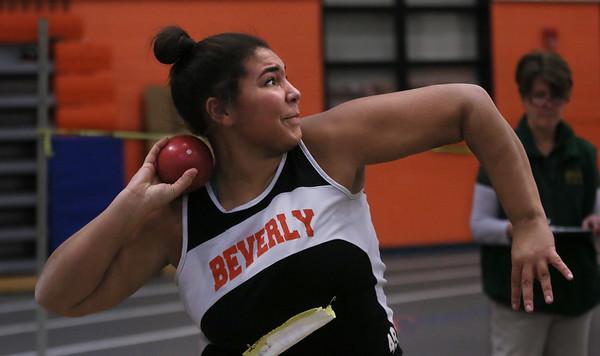 Beverly vs. Peabody Indoor Track Meet