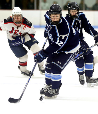 Peabody at Lynn boys hockey game
