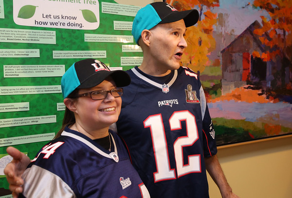 Jeremy Smallwood is battling Stage 4 lung cancer. He and his wife, Amanda Steward, are receiving tickets to the Superbowl