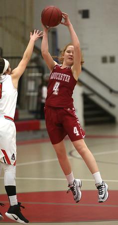 Gloucester at Salem girls basketball