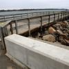 Closed pier