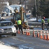 Water main break.