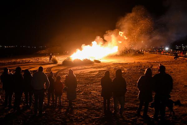 Bonfire at Deadhorse Beach