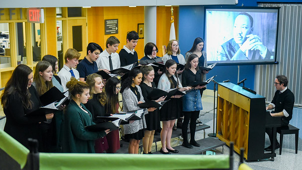 """21st annual Martin Luther King Jr. tribute, """"Raising Our Voices in Service: Danvers Honors MLK, Jr."""""""