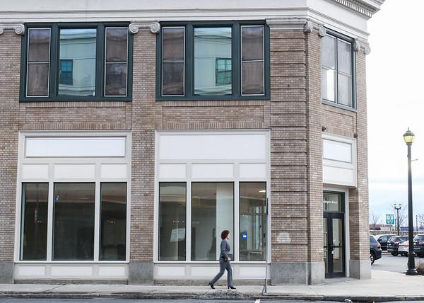 Bank building shot for East Boston Savings Bank