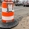 Construction prep on Route 128 in Danvers and Peabody